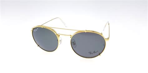 Kacamata Rayban Clip On 3520 Silver Kacamata Polarized Best Quality rayban club fleck clip on gold black polarized