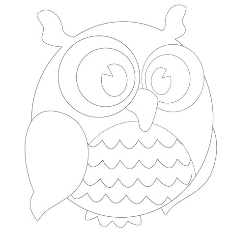 printable outline of an owl owl template by hassified on deviantart