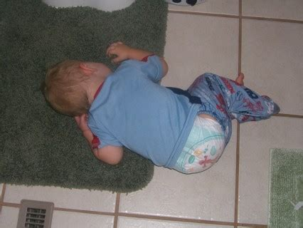 lying on the bathroom floor dadthing comace passed out on the bathroom