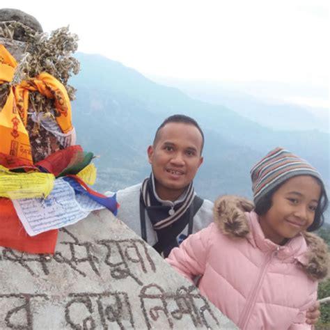 membuat visa nepal papa ini ajak anaknya trekking di nepal