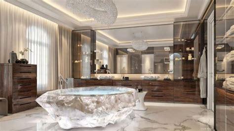 rock bathtub inside the dubai holiday villa with a us1 million bathtub