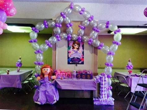 2nd birthday decorations at home sofia de first cumplea 241 os princesita sofia pinterest