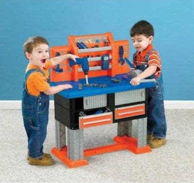 american plastic tool bench deluxe plastic toy workbench kids tool set 38 piece playset tools boys gift what s