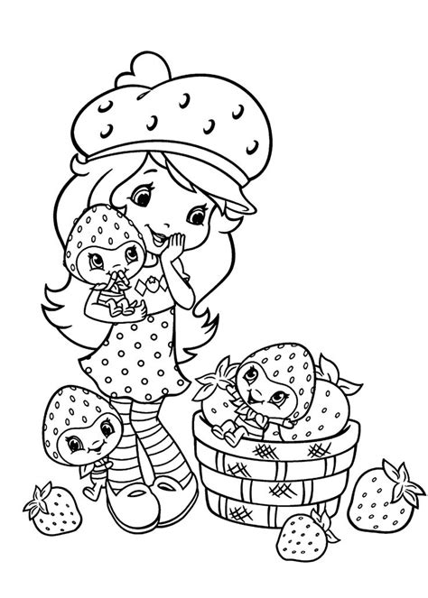 strawberry shortcake coloring pages games 141 best strawberry shortcake coloring pages images on
