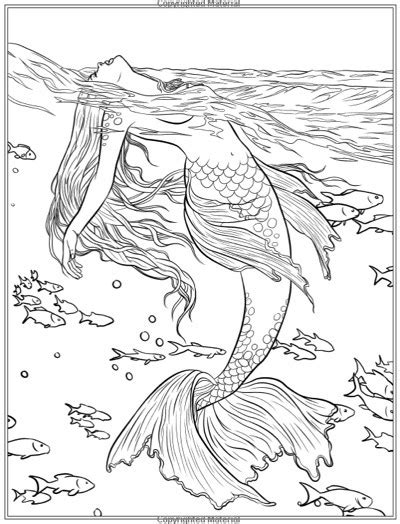 mermaid coloring pages for adults best mermaid coloring pages coloring books cleverpedia