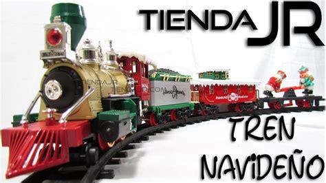 imagenes de navidad tren pista de tren navide 241 o con luz y sonido 430 cm de