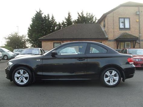 Bmw 1er Coupe Schwarz by Used 2008 Bmw 1 Series Coupe 120d Es 2dr Diesel For Sale