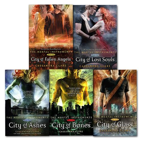 best mortal instruments book clare set 5 books collection mortal instruments