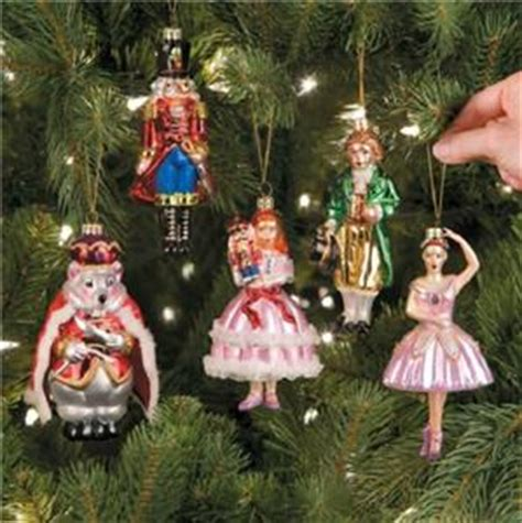 nutcracker ornaments uk sale 5pc glass handpainted nutcracker ballet collectible