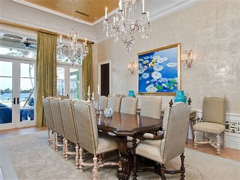 mansion dining room luxurious palm seashore mansion promoting for an