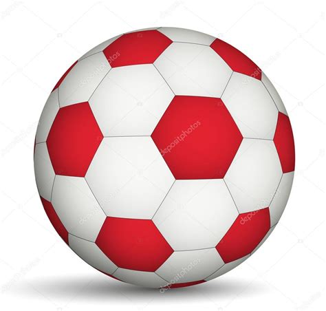 Balon Foil Bola Football f 250 tbol bal 243 n rojo de color blanco archivo im 225 genes vectoriales 169 ramcreative 42648623
