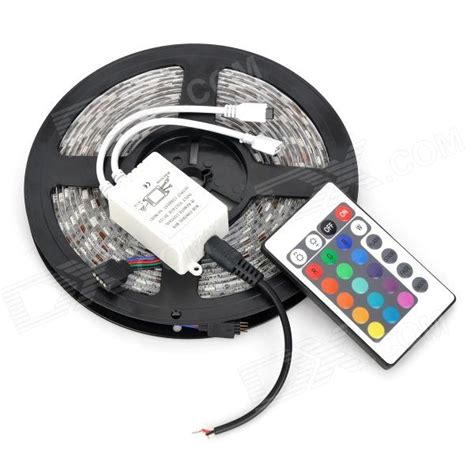 Led 5050rgboutdoor jr 5050 waterproof 72w 4500lm rgb 300 led light w remote 5m free shipping dealextreme