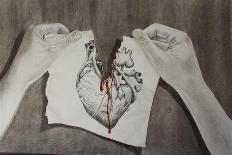 ripped appart torn apart heart by jessiestam on deviantart