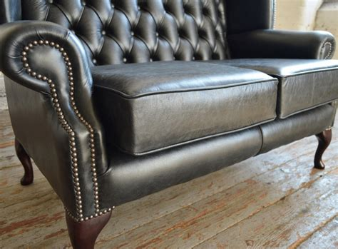 queen anne sofa and loveseat antique queen anne leather chesterfield sofa abode sofas