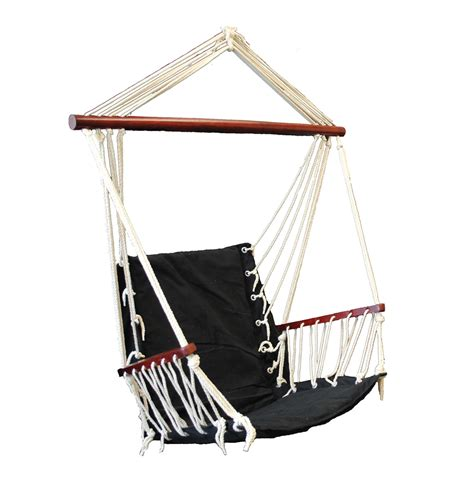 hanging swings omni patio swing seat hanging hammock cotton rope chair