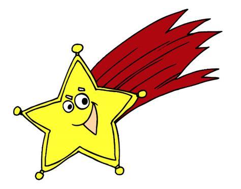 imagenes de estrellas navideñas animadas dibujo de estrella fugaz pintado por norigazoch en dibujos