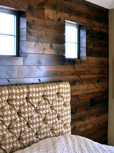 Wood Panel Accent Wall | before after wood paneled accent wall design sponge