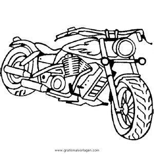 Motorrad Zum Ausmalen by Chopper Gratis Malvorlage In Motorrad Transportmittel