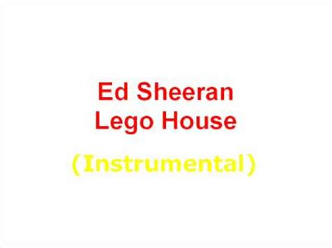 lego house official music video ed sheeran lego house instrumental youtube