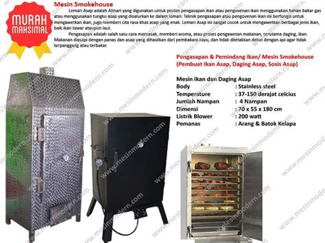 Oven Pengering Listrik jual mesin pengasapan ikan harga murah malang oleh cv modern mesin