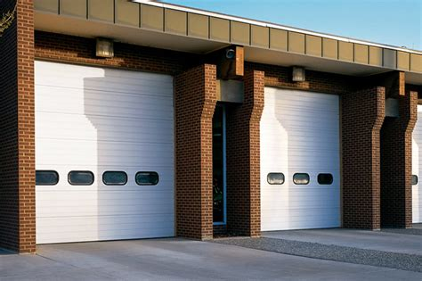 overhead door thermacore thermacore insulated sectional steel doors 593