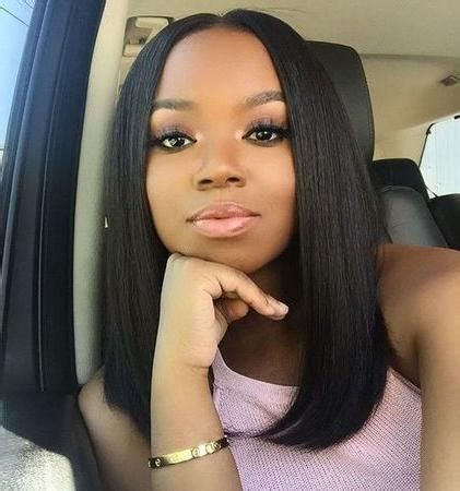 sew in weave bob styles for round face shapes 15 collection of long haircuts for black women