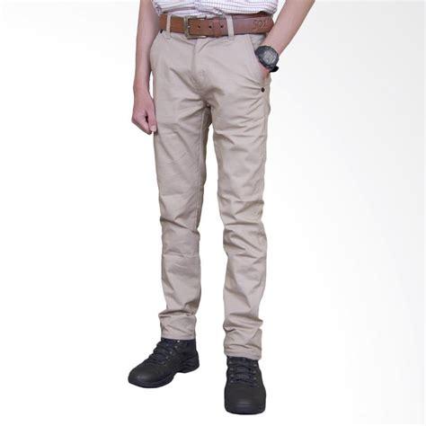 Celana Pendek Blackstar Creme jual celana chino panjang pria harga