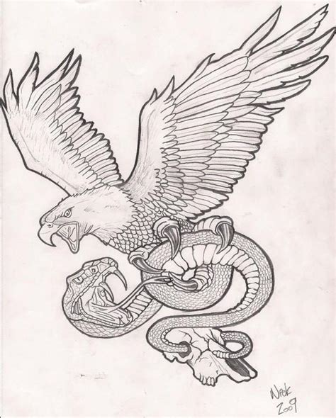 tattoo eagle drawing eagle n snake tattoo drawing tattoos book 65 000