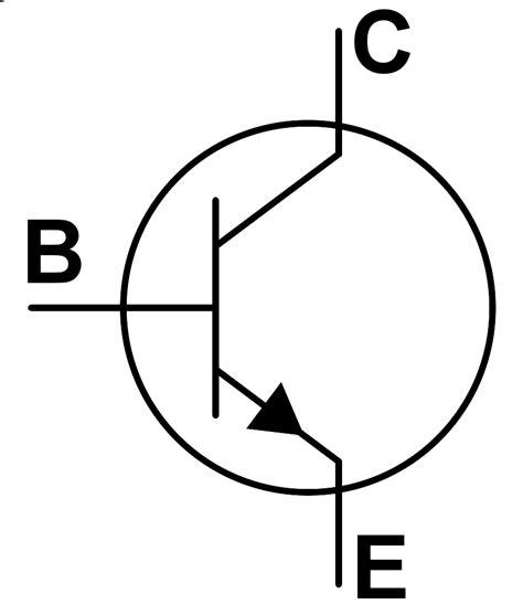simbol transistor bjt symbol for transistor clipart best