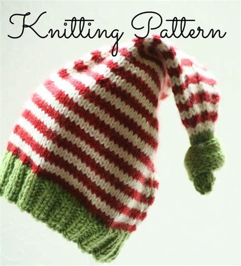 elf pattern pinterest knitting pattern baby elf hat double by