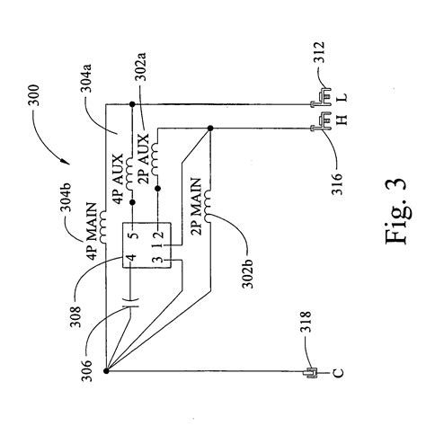 permanent split capacitor vs split phase patent us20070229020 multi speed permanent split capacitor motors patents