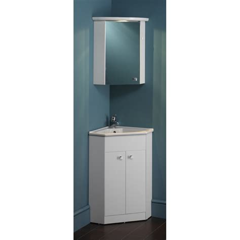 Space Saving Bathroom Vanities Eastbrook Diamante Corner Unit With Corner Basin One