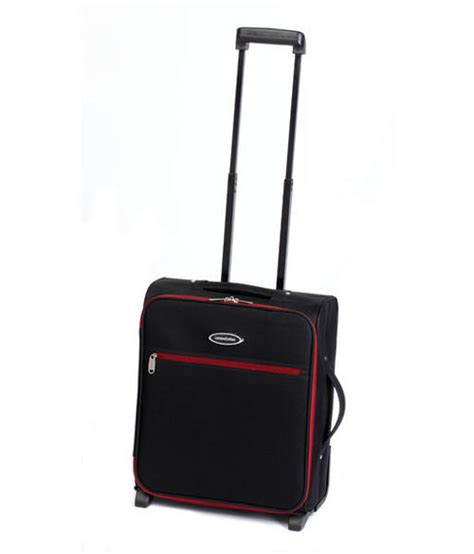 constellation cabin 18 quot luggage 50x40x20cm black w