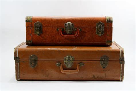 alter reisekoffer vintage suitcase vintage stack of suitcases by