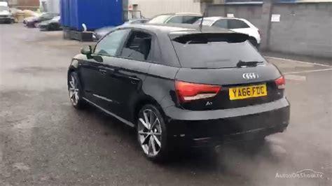 Black Audi A1 Sportback by Audi A1 Sportback Tdi S Line Black Edition Black 2016