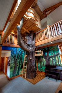 Treehouse Bedroom 10 Cool Indoor Treehouses That Can Make Your Kids Happy