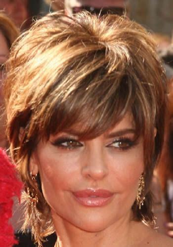 pictures of shag haircuts front and back short shag haircuts front and back actress lisa rinna s