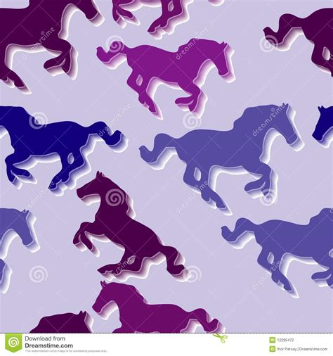 stock horse pattern seamless horse pattern stock vector illustration of