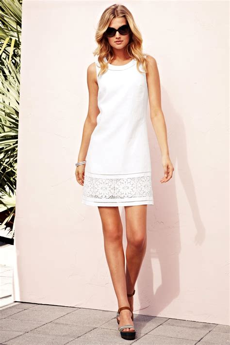 Dress The Next look book on toni garrn charity and linen dresses