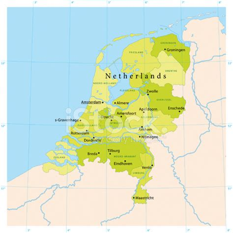 netherlands map vector netherlands vector map stock photos freeimages