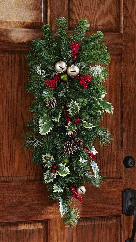 christmas bells door decoration door decorations
