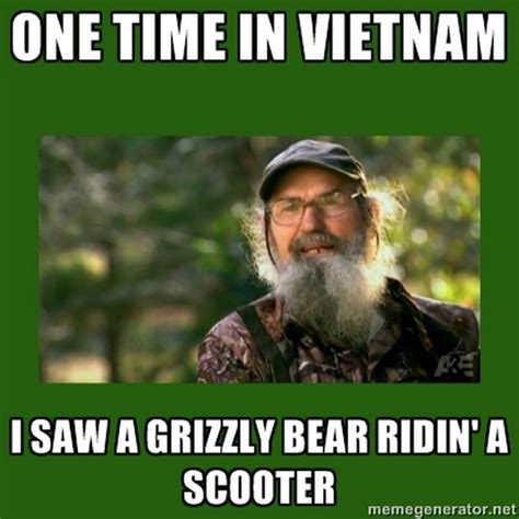 Uncle Si Memes - funny quotes from duck dynasty quotesgram