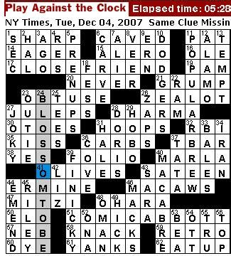 dances with themes crossword clue rex parker does the nyt crossword puzzle tuesday dec 4
