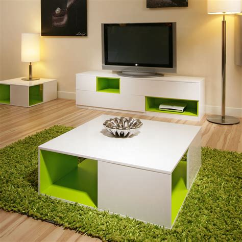 lime green table l coffee side table tables white gloss lime green modern