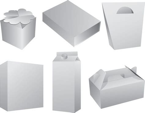pattern package ai blank packaging vector free vector in encapsulated