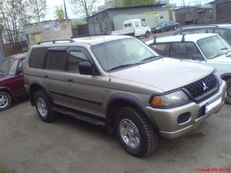 mitsubishi montero sport 2002 2002 mitsubishi montero sport car interior design
