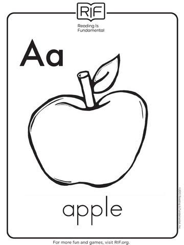 apple coloring pages free large images music therapy free alphabet coloring pages