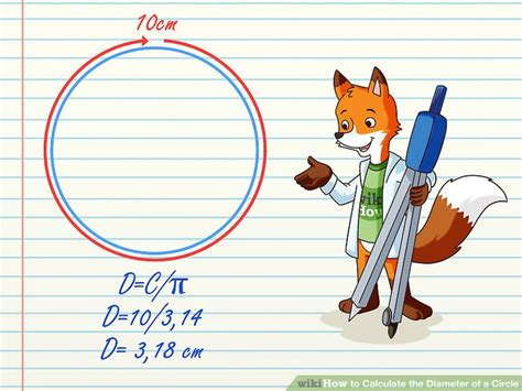 Tabung Diameter 8cm Tinggi 18cm how to find the diameter of a circle wikihow