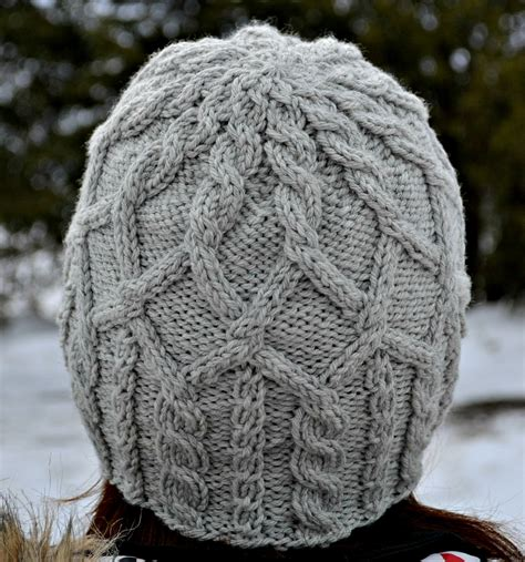 free mens cable knit hat pattern merrick cabled hat pattern aknitica