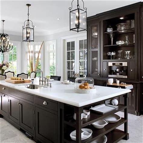 brandon barre blue kitchen breakfast bar light blue high espresso kitchen cabinets design ideas